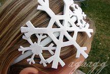 Megan snowflake costume
