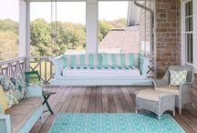 ~ Porch & Patio Inspiration  ~