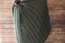 Crochet - poncho/shawls
