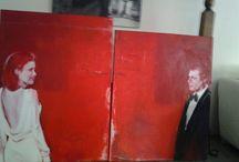 mis pinturas / los cuadros que yo hago