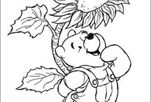 coloring pages 21 (Winnie the Pooh)