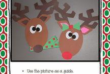Reindeer stuff / by Lyn Dee Rhodes