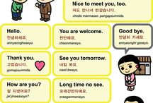 Korean / Learn more about korean languange for you who interested