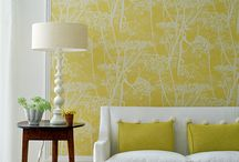 Colored wall - yellow