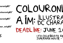ColourOnly85 - DC Comics Characters
