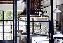 Iron doors & Windows / Interiørideer