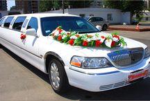 Украшение цветов на машину