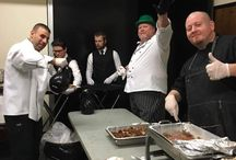 Two Fat Men Catering Team / Here at Two Fat Men Catering, we strive to make a lasting impression on your special events. We meet new people daily & love the work we do! We also like to have fun while we work! Here are a few of our favorite memories!