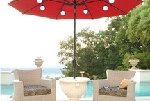 Light the Way / Under-umbrella lighting ideas that enhance your outdoor living experience!