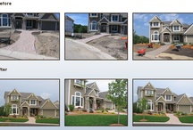 Before & After Designs / Before and after projects that Environmental Design Inc has done!