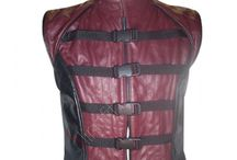 Farscape TV Series Leather Vest / Farscape is an Australian science fiction television series, produced originally for the Nine Network. The series was conceived by Rockne S. O'Bannon and produced by Jim Henson Productions and Hallmark Entertainment.
