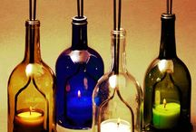 winebottle decor