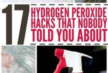 Hydrogen peroxide hacks