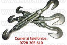 Intinzatoare , bride , rodante cablu - inele ridicare DIN580+DIN582 / Intinzatoare cablu , bride cablu , rodante cablu Total Race Romania
