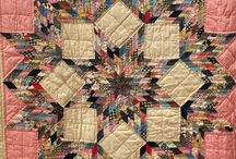 45 &60 Degree Stars and Diamonds / Quilts and blocks that use 45 & 60 degree pieces.