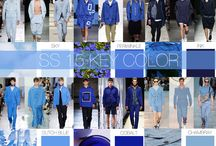 2015 spring/summer colour inspiration / New project colours