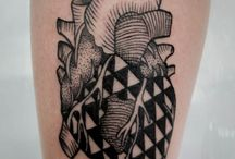 Graphic tattoo