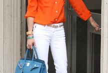 Orange and blue / Like it
