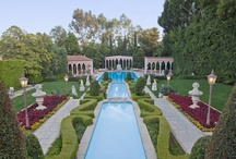 The Legendary Beverly House / The Legendary Beverly House is sited on approximately 3.7 flat acres atop a private knoll 3 blocks from Sunset Boulevard. The Beverly House hosted John and Jacqueline Kennedy during their honeymoon in 1953.