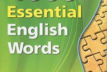 English essential words