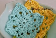 Crochet squares, blocks and circles