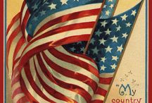 Red, White and Blue / Memorial Day, 4th of July, Veteran's Day / by Donna Kinsey