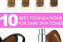 Makeup for WOC like me w/ dark skin / Makeup Tips/ Products for Women of Color with Dark skin