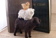 groups of animals...felted/fiber / by Karla Iverson