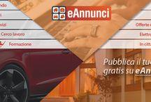 Annunci Gratis Italia / Annunci Italia. Scegli una categoria di annunci: case, auto usate, offerte lavoro, incontri, ecc. - http://www.eannunci.com/tutta-italia