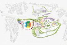 MAPA ILUSTRADO | Copa do Mundo FIFA 2014™ / Mapa ilustrado da Arena Corinthians e seu entorno, para uso institucional do cliente. Cliente: Comitê Paulista da Copa do Mundo FIFA 2014™.