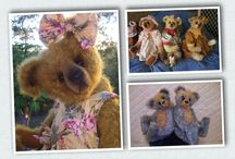 Celebrating 30 years  of Bear Making in 2015 / Please add any photos of my bears or bear that you have made from my patterns