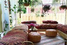 Boheemse decoratie