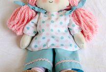 Doll Fabric  -  Bonecas de pano