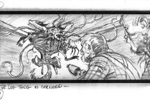 The Thing-Storyboard.