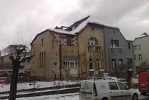 Mazanka střecha