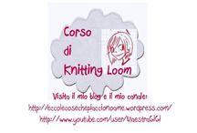 mGGì: Knitting Loom - scuola / La prima Scuola di Punti per il Knitting Loom in Italiano!!! Segui i Tutorial e impara passo passo a lavorare sui telai!