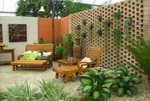 muro para jardim área serviço
