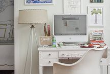 | a space to work | / Beautiful office, beautiful space, chic office,
