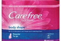#FreshisFierce / carefee liners