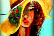 ARTIST MİRA KOLDAŞ( Turkish painter) / ressam mira koldaş in eserleri