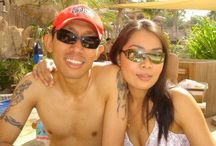 with my love one