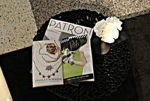 Black and White Party  / Black and white party with a fashion show! Decor and flowers!