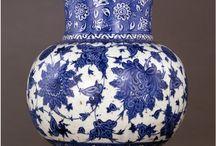 Mavi Osmanlı çini sanatı