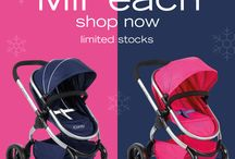 MiPeach - Toy Peach / The iCandy MiPeach is the toy version of our definitive Peach pushchair.  Available is a Royal (Blue) & Bubblegum (Pink).  / by iCandy World