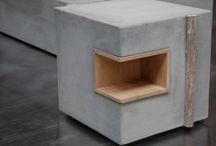 concrete&wooden