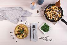 Suppen / Mehr Rezepte gibt's auf www.vegavita.at