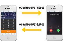サービス / 外出中や出張中でもオフィス内にいるようにスマートフォンで電話を受ける、かけることができます。 転送料金が無料になり、外からでも固定電話番号で発信。出先でのFAX送受信もスマホで可能になります。
