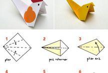 折り紙 にわとり