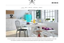 By Appointment | Web Project / A Wordpress Web project designed & developed by Urbansoft for an Interior design client