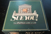 Who said law wasn't fun?  / Here are some fun games, etc. pertaining to the law.  Please note, these are not items owned by the library, nor endorsed by the library, but are rather fun things we have found that you might be interested in! / by Jerome Hall Law Library